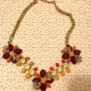 JCREW colorful necklace